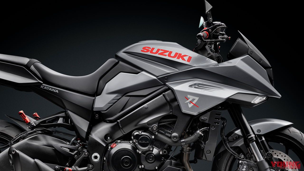 2019 SUZUKI KATANA customized by rizoma