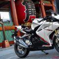 2018CBR250RR ABSのホワイトは4/20発売