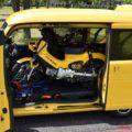 ホンダ新型N-VAN(エヌバン)には大型バイクも積める