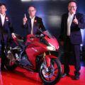 ホンダCBR250RRの新色がインドネシアで発表