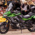 カワサキ2019新型Versys1000/SEは、上級グレードに電サス投入