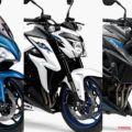 スズキ[2019]GSX-S1000F/GSX-S1000/GSX-S750がカラーリング変更