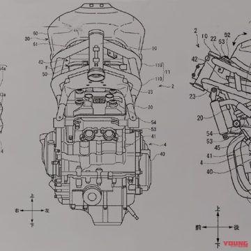GSX-R250関連特許図?