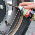 バイク用品テスト:プロツールスのブレーキ&パーツクリーナーで強力洗浄
