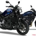 ヤマハのネオレトロ XSR900/XSR700の新色はスポーティ&ファッショナブルなブルー系