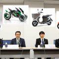 日本のバイク4メーカーが史上初のスクラム! バッテリー規格の早期策定へ