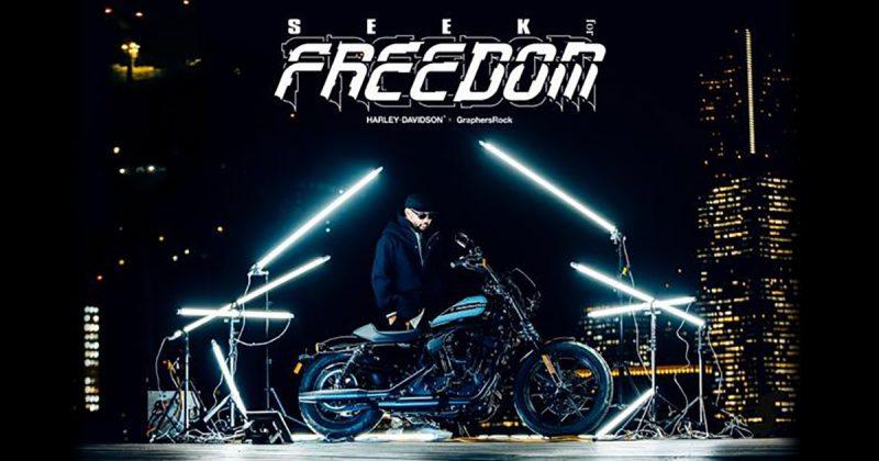 ハーレーダビットソン×GraphersRock『SEEK for FREEDOM』