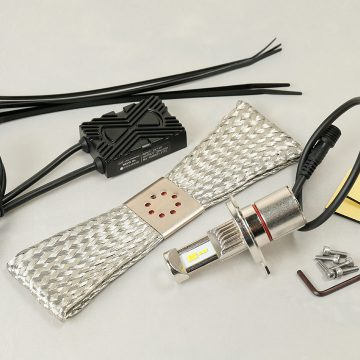 LED RIBBON REVO H4 LEDヘッドライトバルブキット POWER WHITE 6500K[SYGN HOUSE]