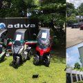 イタリア共和国建国記念レセプションにADIVAが電動バイク3台を出展