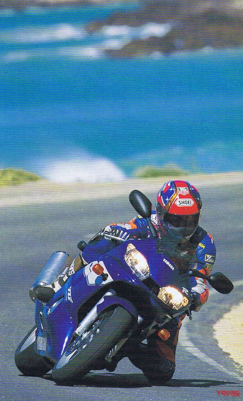 YZF-R6[1999] Rider:Hiroshi MARUYAMA