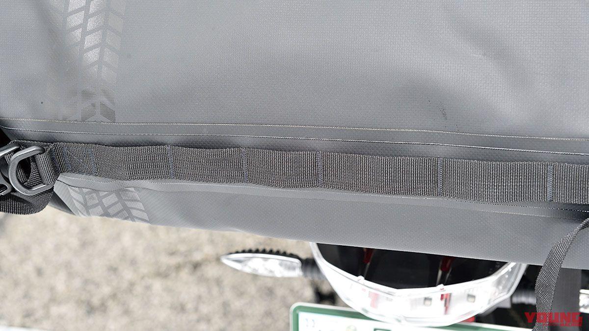 ターポリンツーリングシートバッグ ドッペルギャンガー