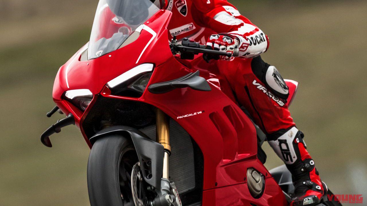 【羽付き】221馬力の超スーパーバイク ドゥカティ パニガーレV4Rの発売日は6月29日に決定!