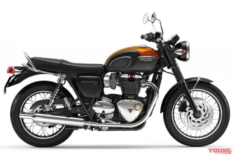 Bonneville T120 - ストームグレー×バハオレンジ(ツインカラー)