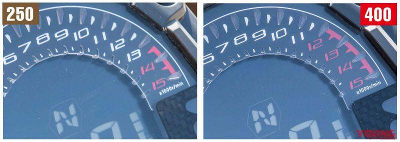 Z250 vs Z400