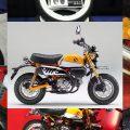 ホンダ モンキー125、カスタム3変化【ホワイトリボンタイヤ、アールズギアマフラーなど】