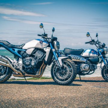 Blue Monkey and Honda Monkey 1000R