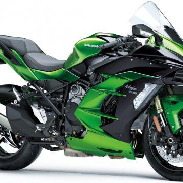 【Ninja H2 SX SE+】●価格:239万7600円 ●色:緑×黒
