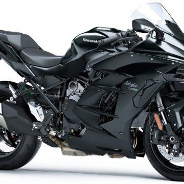 【Ninja H2 SX】●価格:199万8000円 ●色:灰×艶消し灰