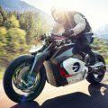 【動画あり】ボクサーツイン風!? BMWが電動バイクの『ビジョンDCロードスター(Vision DC Roadster)』を発表!!