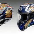 SHOEIからマルク・マルケスの2018年日本GPグラフィック レプリカヘルメットが登場