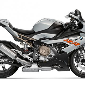 2020 BMW S1000RR Hockenheim silver metallic