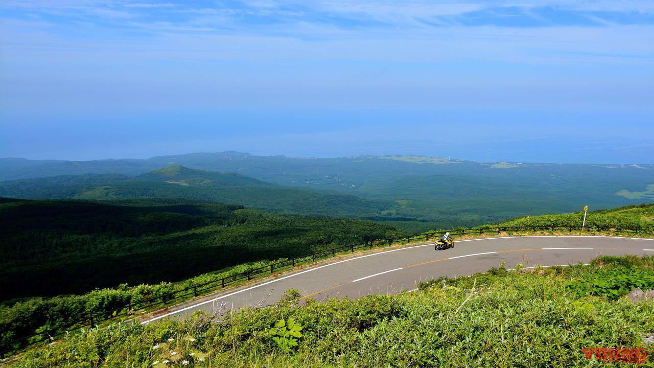 ライン ブルー 鳥海 山