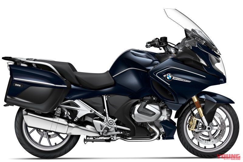 2020 BMW R1250RT Option 719 Blue planet metallic/Ivory