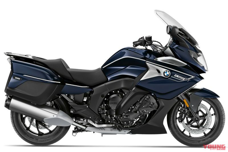 2020 BMW K1600GT Option 719 Blue planet metallic/Ivory