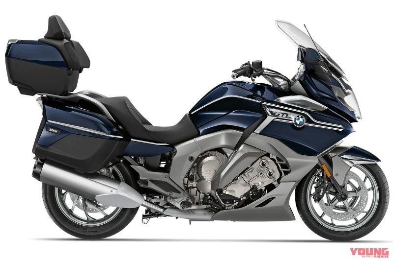 2020 BMW K1600GTL Option 719 Blue planet metallic/Ivory