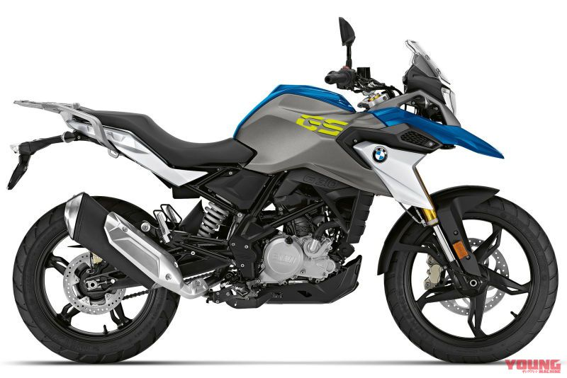 2020 BMW G310GS Strato blue metallic