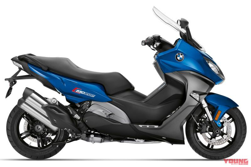2020 BMW C650Sport Lupin blue metallic