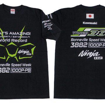 Ninja H2 世界最速記録樹立記念Tシャツ
