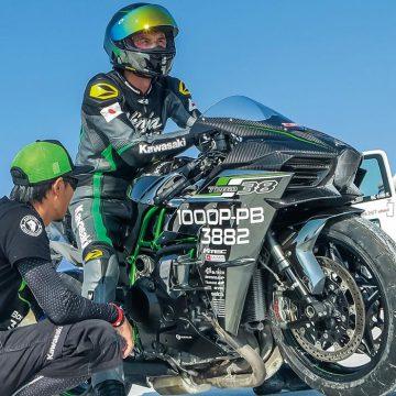 Ninja H2 世界最速記録樹立