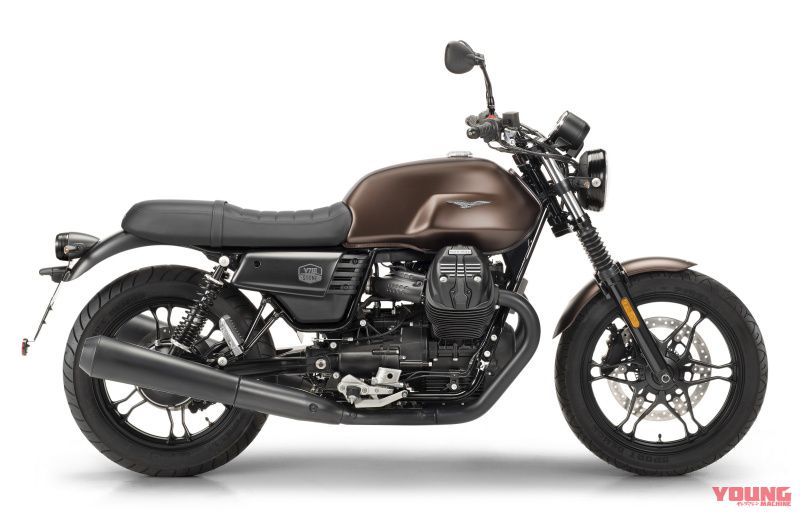 【MOTO GUZZI V7III Stone Night Pack 2019】レビガトブロンズ