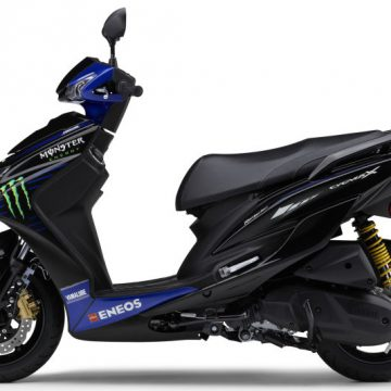 YAMAHA CYGNUS-X Monster Energy Yamaha MotoGP Edition 2019