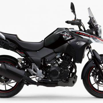 【SUZUKI V-STROM250 ABS 2019】パールネブラーブラック×ハイテックシルバーメタリック