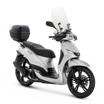 【PEUGEOT TWEET 150 ABS SPECIAL EDITION 2019】サテンアイアングレー