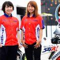 女子ペアがホンダCBR600RRで鈴鹿4時間耐久レースに挑み、3位表彰台を獲得!