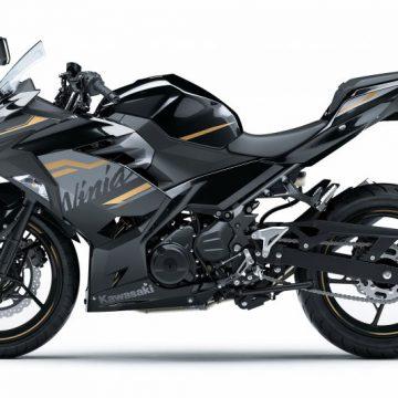 KAWASAKI Ninja 250[2020]メタリックスパークブラック×メタリックマットグラファイトグレー
