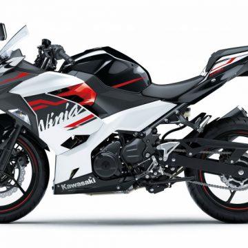 KAWASAKI Ninja 400[2020]パールブリザードホワイト×メタリックスパークブラック