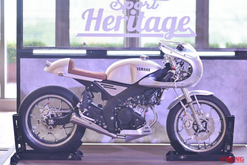 YAMAHA XSR155 Cafe Racer style