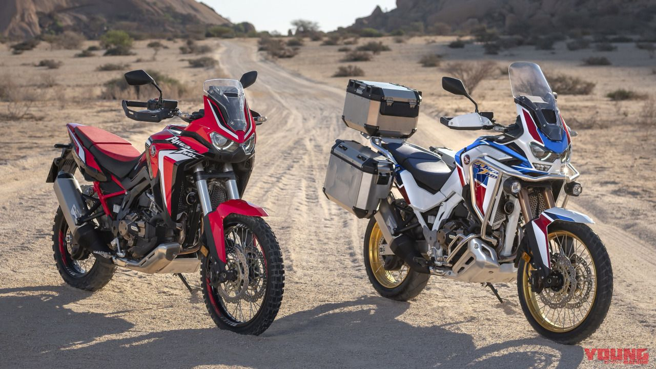 2020 Africa Twin and Africa Twin Adventure Sports