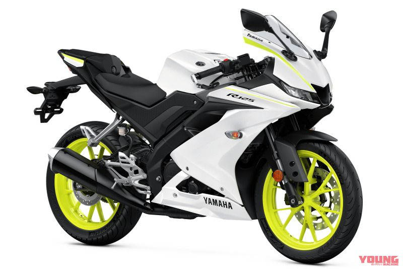2020 YZF-R125[EU]Competition White