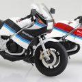 初代ガンマが登場! アオシマ1/12完成品バイクシリーズ最新作、RG250Γが11月発売に