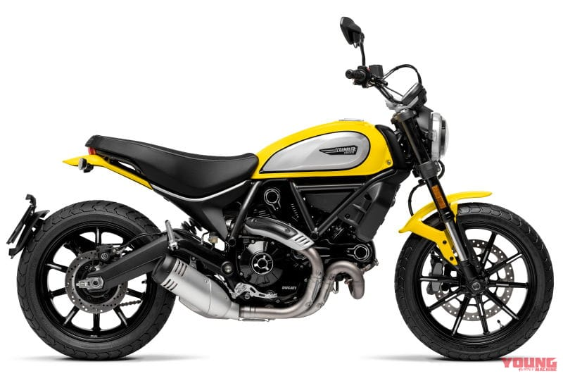 DUCATI SCRAMBLER ICON 62 YELLOW