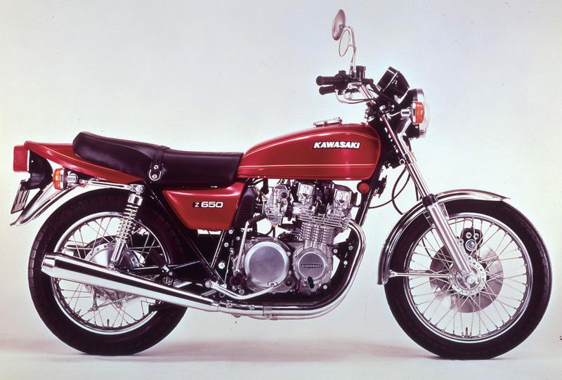 KAWASAKI Z650 1976