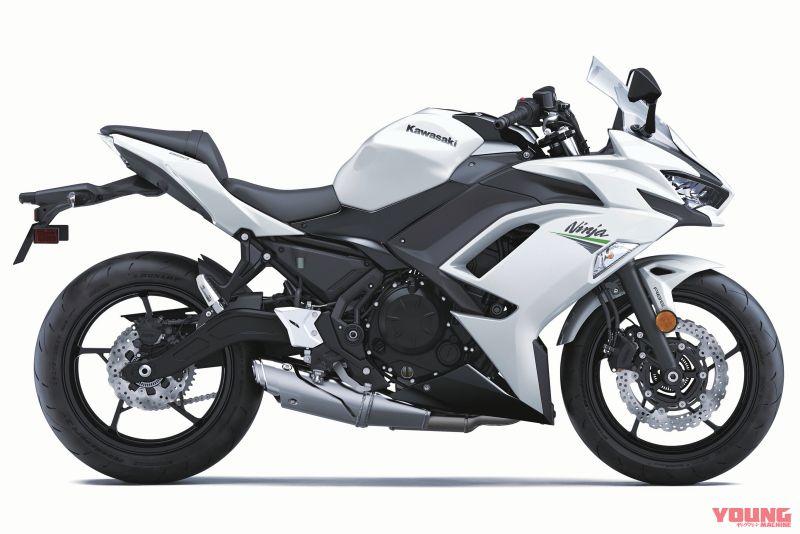 KAWASAKI Ninja 650[PEARL BLIZZARD WHITE]