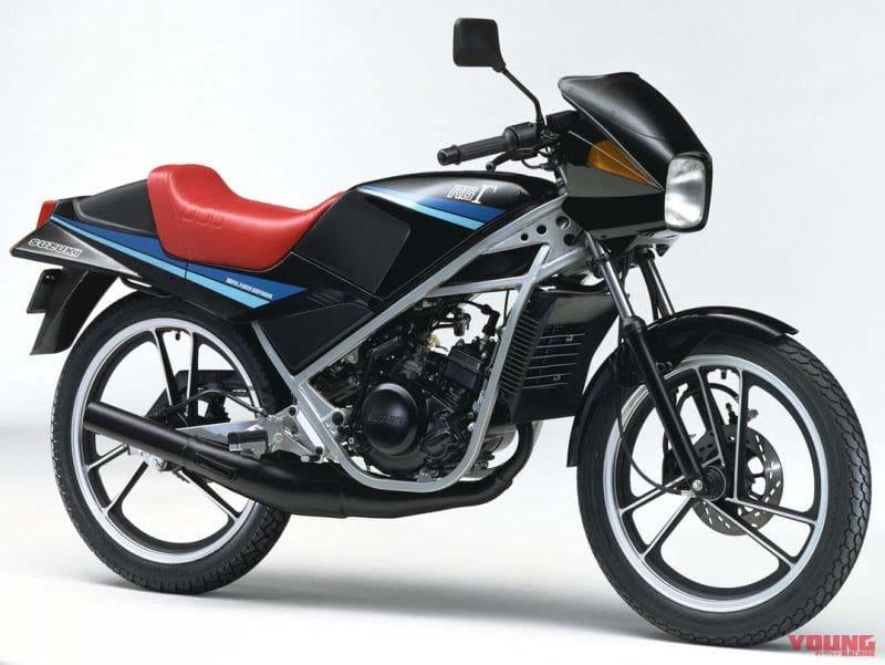 SUZUKI RG50Γ 1982