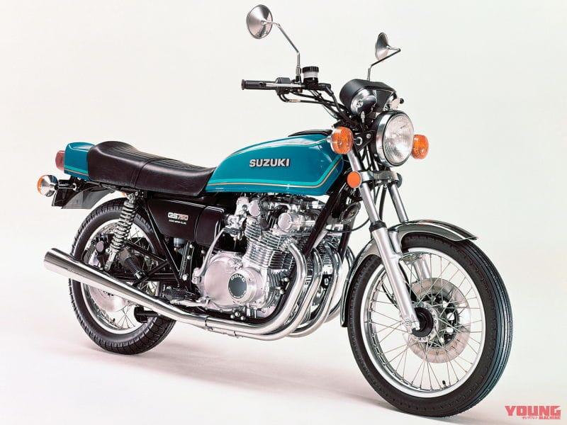 SUZUKI GS750 1977