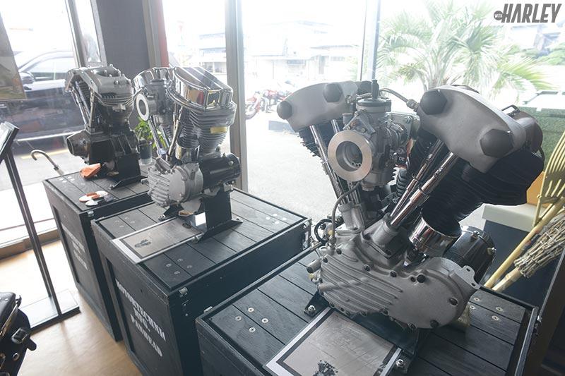 新品パンヘッド&ナックルヘッドエンジン